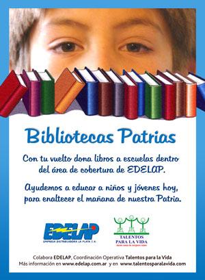 Bibliotecas Patrias